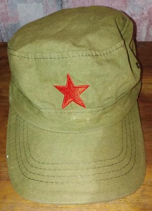 Кепка кубинская, военная