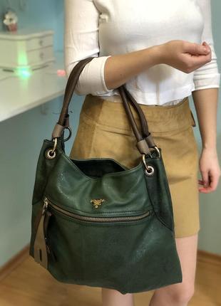 Prada milano сумка прада модная брендовая кожзам