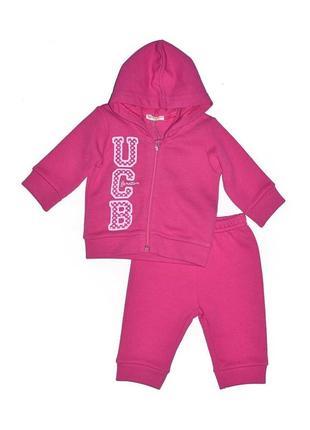 Новый розовый костюм для девочки, united colors of benetton, 01498