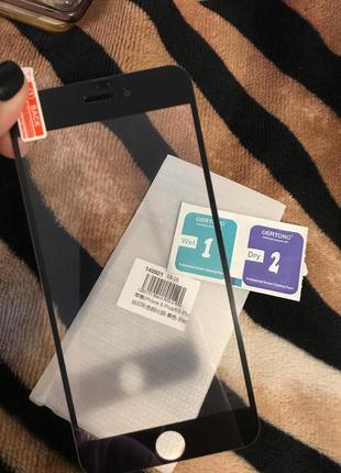 Защитное стекло на iphone 6plus/ 6splus