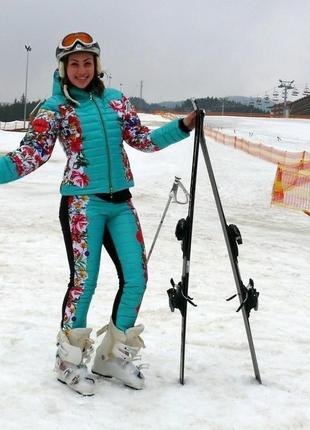 Зимний лыжный (спортивный) костюм