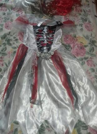 Продам карнавальный костюм зомби. р 122-128