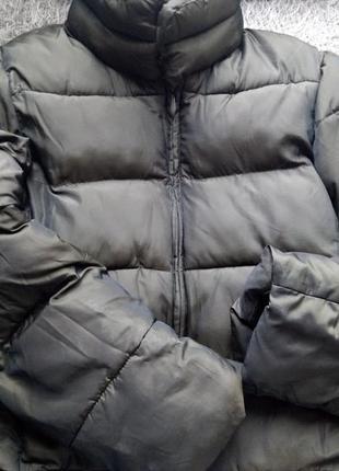 Дутая женская куртка h&m пуховик женский size s 36