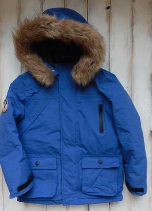 Matalan стильная зимняя куртка на мальчика 8 лет