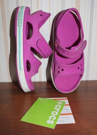Crocs kids crocband 2 sandal размер с12 (29-30)