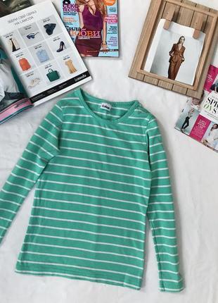 Гольф, полосатый свитер, зелёный гольф