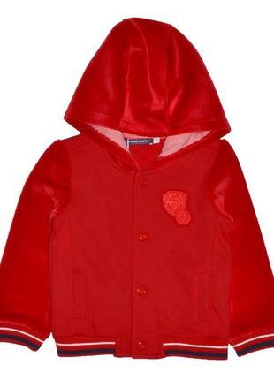 Новое красное худди на байке для малышей, original marines, 449056