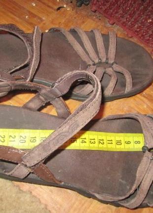 Спортивные сандали р 38-39 кожа нубук