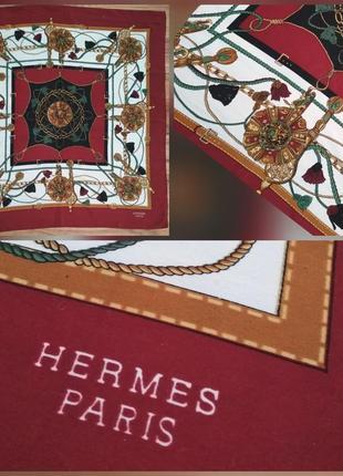 Фирменный, шелковый платок hermes