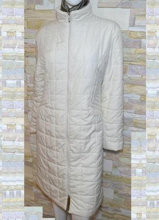 Р.46-48 стёганное фирменное пальто на синтепоне, бренд el corte inglés, испания!