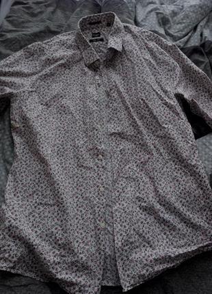 Очень сильная мужская рубашка