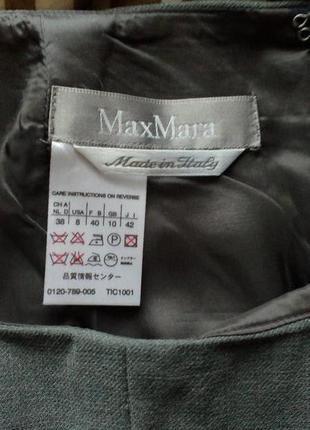 Vip!max mara шерстяная брендовая юбка,рр.м-л,made in italy.