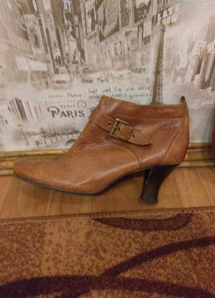 Теплые ботиночки на тонком меху от caprice, оригинал, 27 см