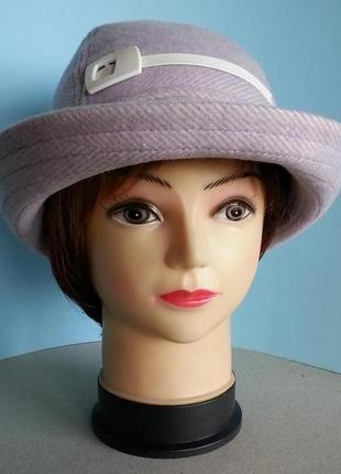 Женская шляпа. ручная работа. цена 250 гр.