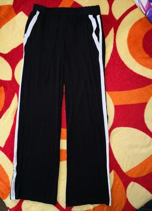 Трикотажные брюки с лампасами love to lovnge