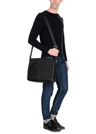 Мужская сумка мессенджер armani jeans не носилась оригинал