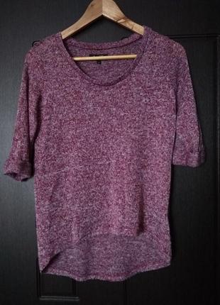 Трикотажная кофточка блуза размер м в составе вискоза