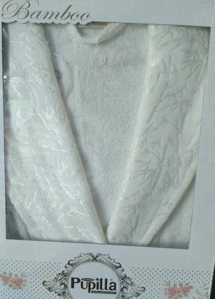 Женский бамбуковый халат tm pupilla