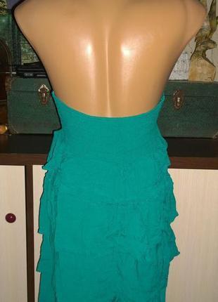 Платье с оборками и открытой спинкой h&m2 фото