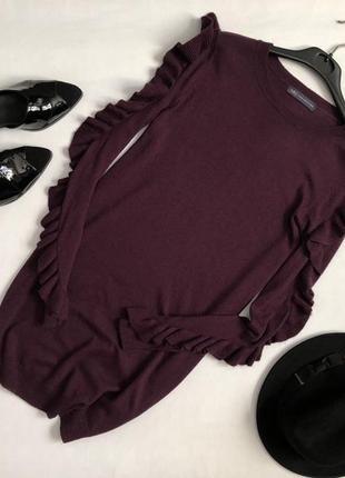 Красивое платье с оборками marks & spencer