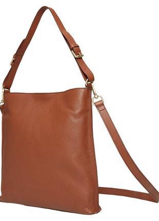 Кожаная сумка white stuff /идеальное состояние/стильный лаконичный вид/100%кожа