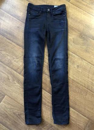 Стильные джинсы/скини g-star raw