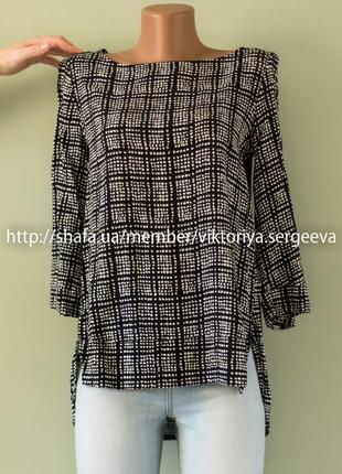 Большой выбор блуз - новая стильная блуза вискоза рукав ¾