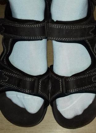 Сандалии кожаные m&s 27.3 см