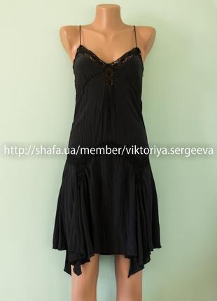 Большой выбор платьев - шикарное вечернее платье в бельевом стиле с кружевом 100% шелк