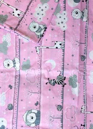 Комплект детского белья в кроватку, бязь1