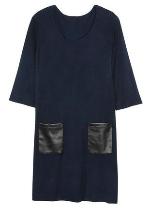 Xxl(52-54 европейский) женское вязаное платье esmara