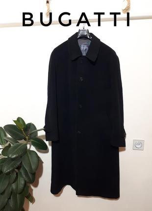 Vip бренд мужское шерстяное пальто bugatti