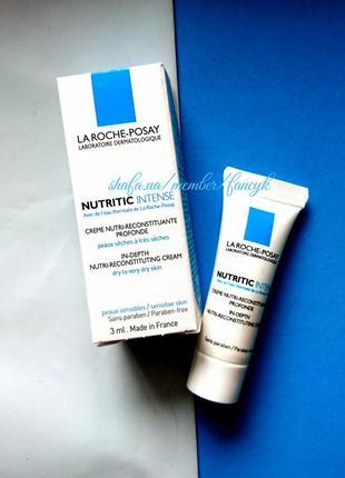 Питательный реконструирующий крем для очень сухой кожи la roche-posay nutritic intense