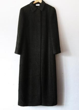 Длинное пальто в пол akris punto альпака шерсть
