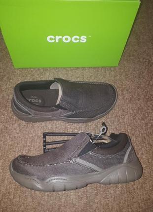 Макасины crocs m8 длина стельки 27см