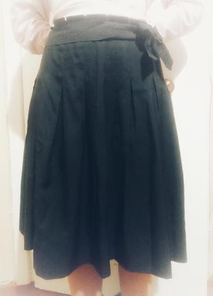 Легкая юбка солнце-клеш