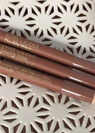 Карандаш олівець для контура губ estee lauder double wear lip pencil цвет 18 nude
