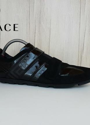 Кроссовки кеды туфли versace
