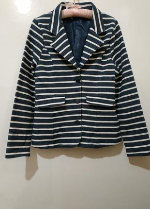 Стильный женский пиджак blue motion 36-38 р - новый