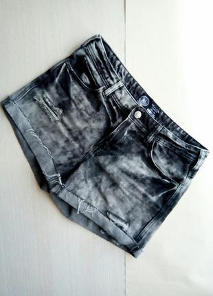 Шорты джинсовые серые new look, m, 38