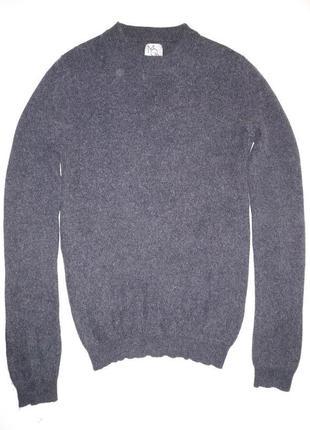 Меланжевый кашемировый свитер от mod class