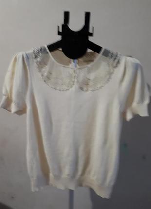 Котоновая блуза очень приятная к телу