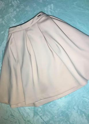 Брендовая юбка от mohito пудрового цвета
