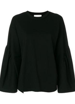 Крутая блуза с рукавами колоколами