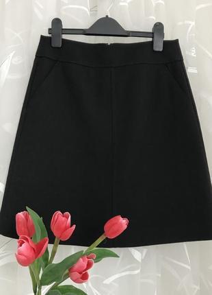 Стильная ♥️👑♥️ шерстяная юбка из шерсти uniqlo, s, 42/36.