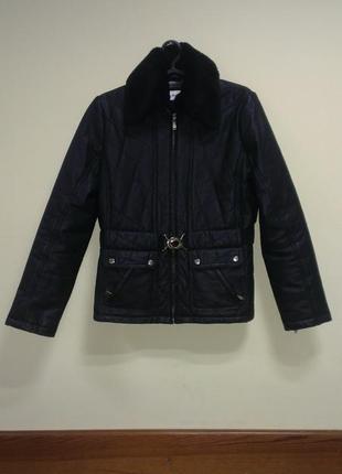 Кожаная куртка biaggini оригинал 100% натуральная кожа, 46