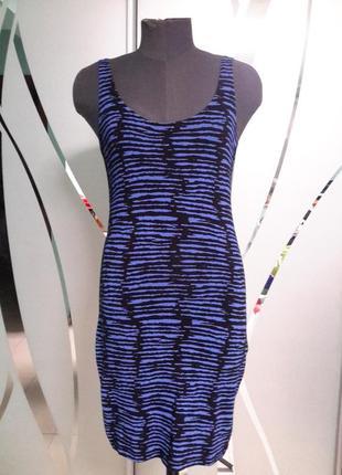 Трикотажное платье/майка 34/36 размер