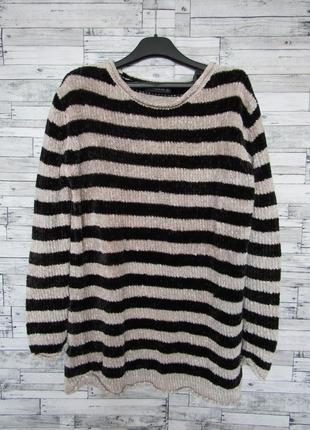 Плюшевый велюровый свитер zara *