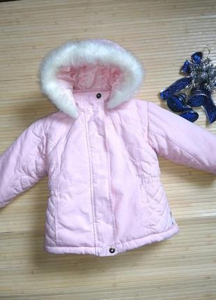 Очень теплая курточка