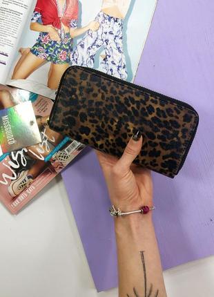 Стильный леопардовый кошелек missguided